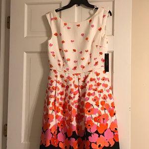 Tahari summer dress size 6 - NWT